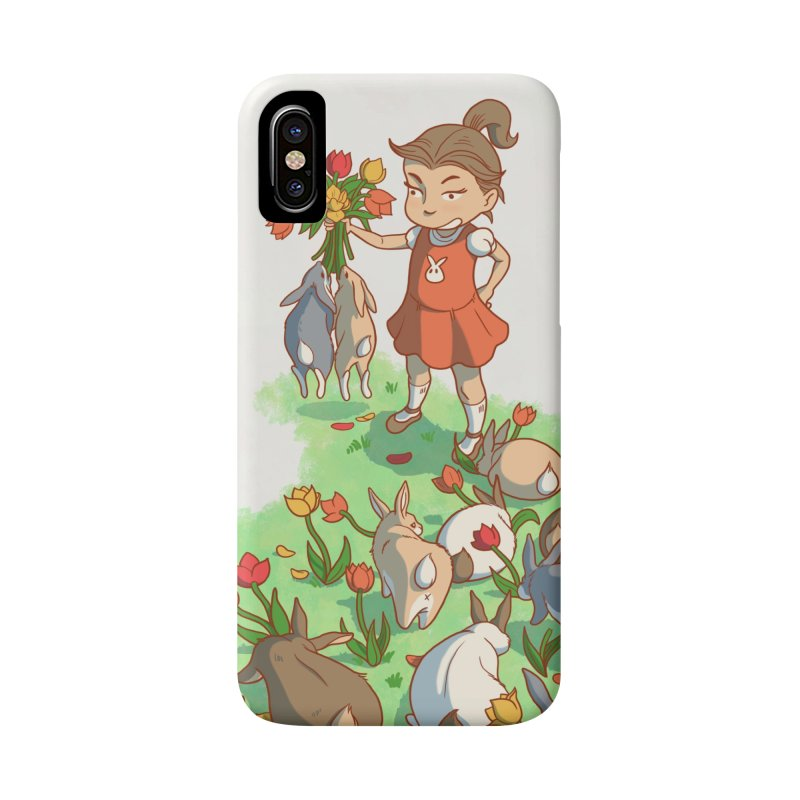 Fluffle Accessories Phone Case by Rina Rozsas's Artist Shop