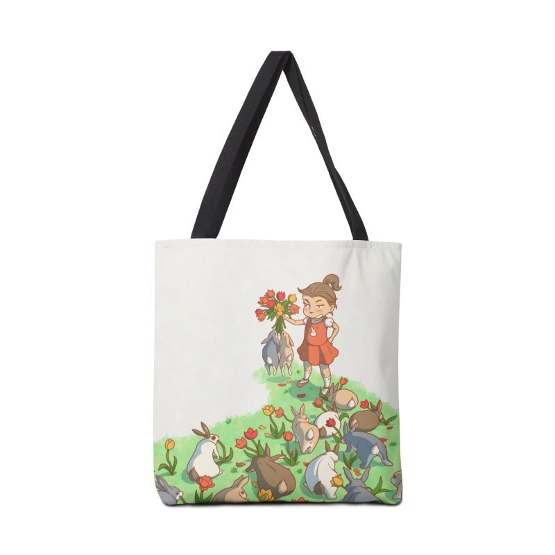 Fluffle Accessories Tote Bag Bag by Rina Rozsas's Artist Shop