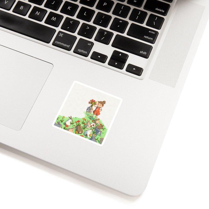 Fluffle Accessories Sticker by Rina Rozsas's Artist Shop
