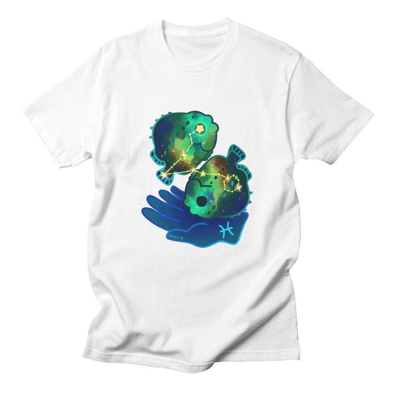 Chonkstellations: Pisces Men's T-Shirt by Rincs' Doodles