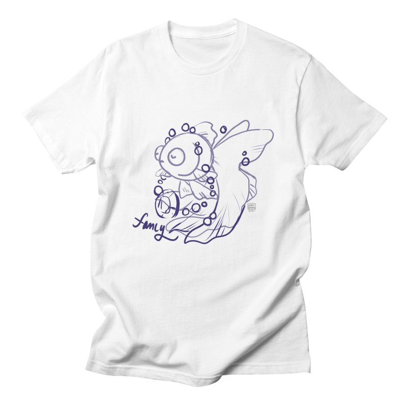 Fancy Fish Men's T-Shirt by Rincs' Doodles