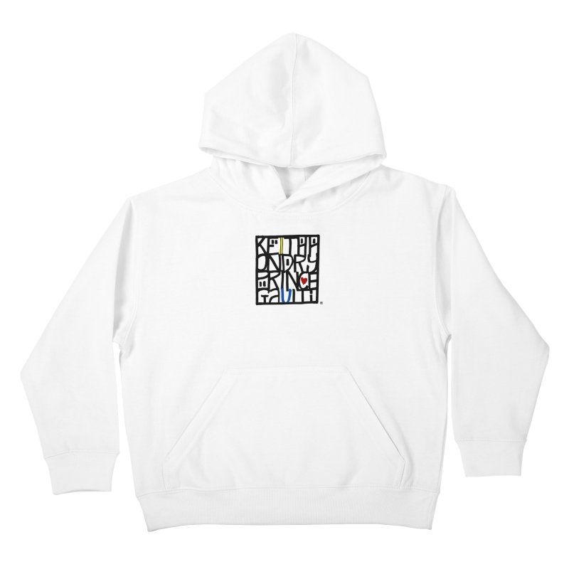 FAN Kids Pullover Hoody by christopheart