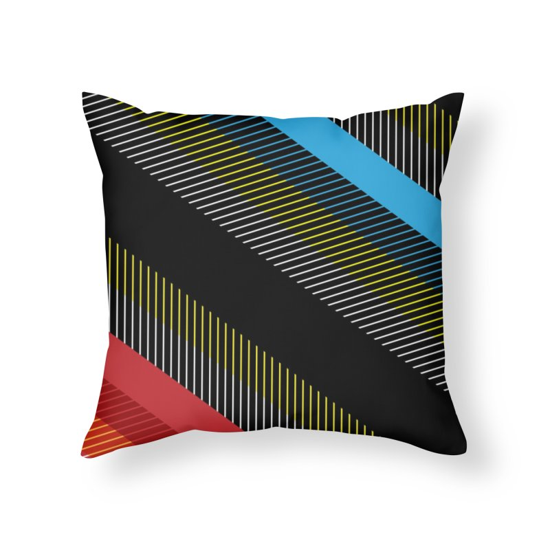 Line in Italia Home Throw Pillow by christopheart