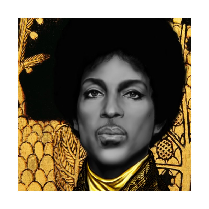 PRINCE IN KLIMT Home Mounted Acrylic Print by christopheart