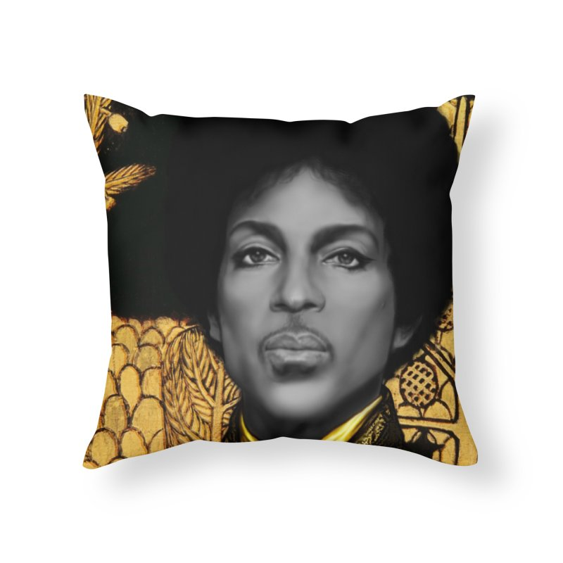 PRINCE IN KLIMT Home Throw Pillow by christopheart