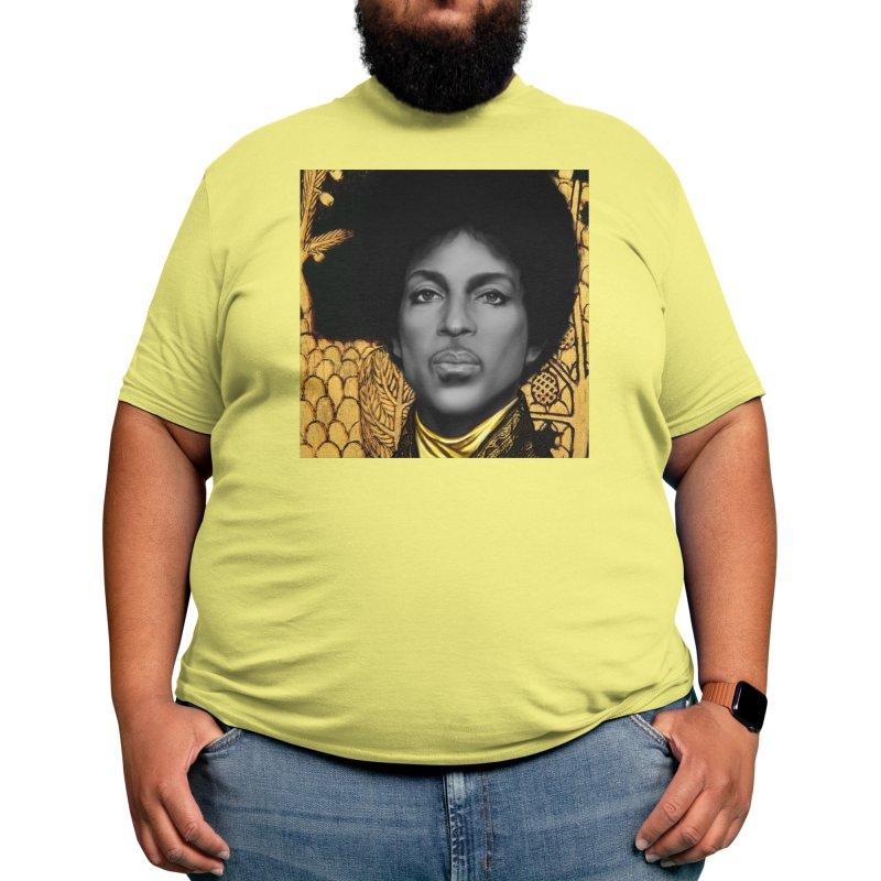 PRINCE IN KLIMT Men's T-Shirt by christopheart