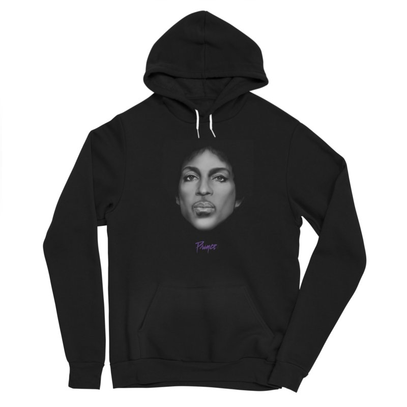 PRINCE IN BLACK Men's Pullover Hoody by christopheart