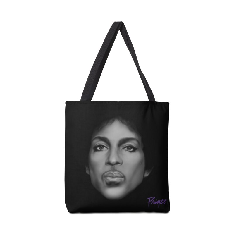 PRINCE IN BLACK Accessories Bag by christopheart