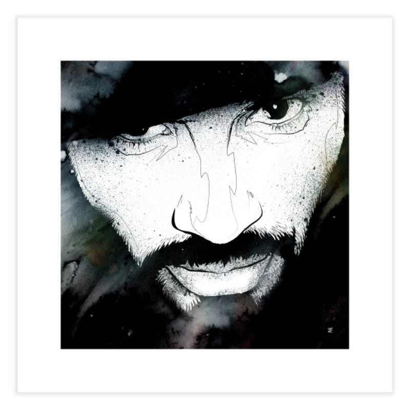 B•FACE Home Fine Art Print by christopheart