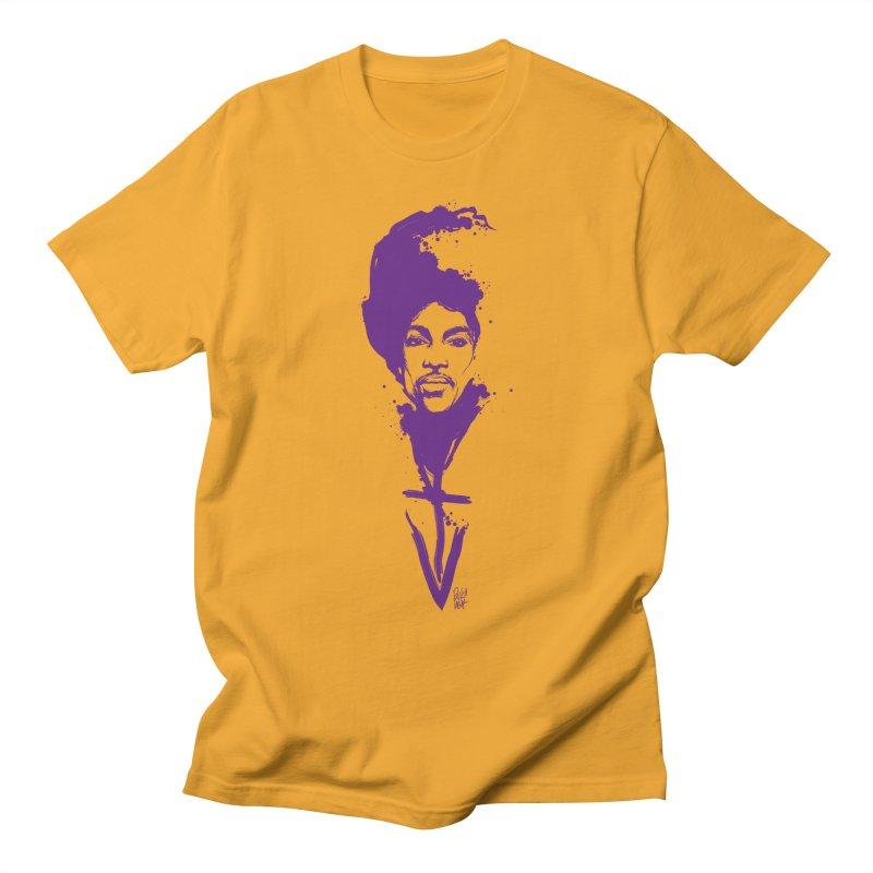 Prince sign Violet Men's T-Shirt by christopheart