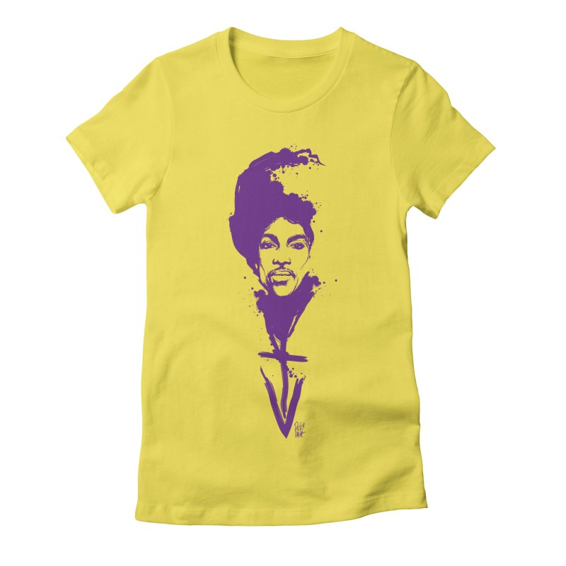 Prince sign Violet Women's T-Shirt by christopheart