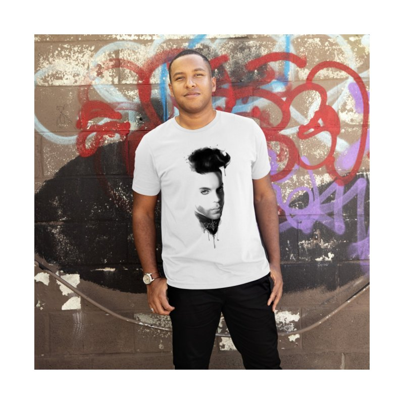 Prince • The Beautiful Ones Men's T-Shirt by christopheart