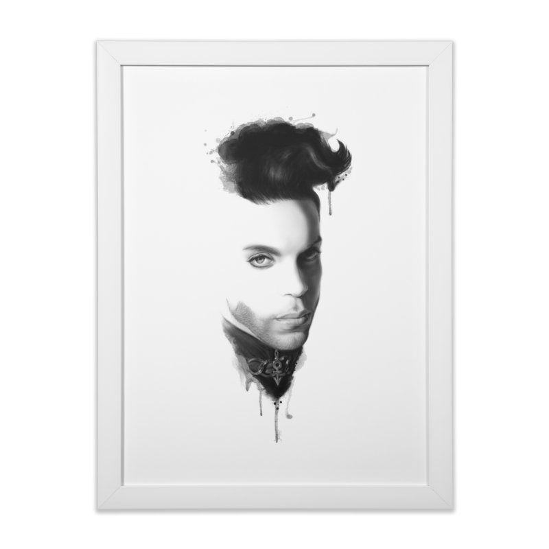 Prince • The Beautiful Ones Home Framed Fine Art Print by christopheart