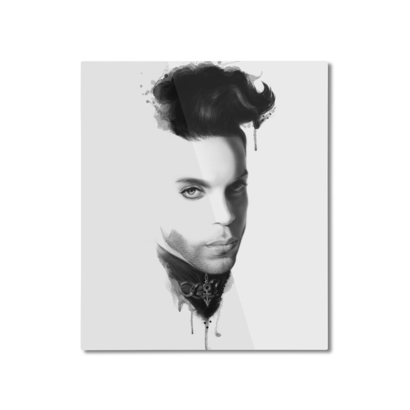 Prince • The Beautiful Ones Home Mounted Aluminum Print by christopheart