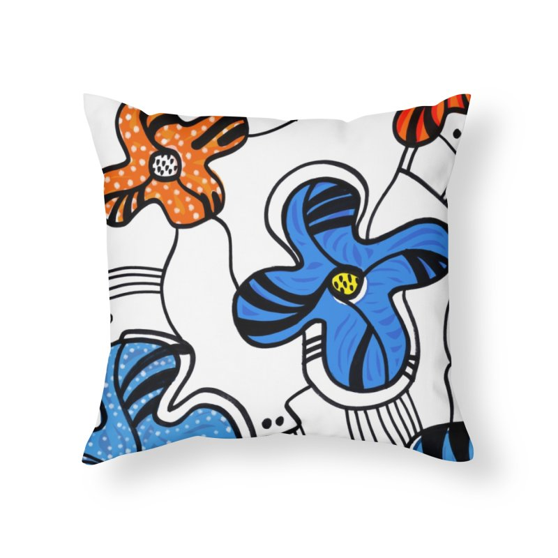 G • 8 Home Throw Pillow by christopheart