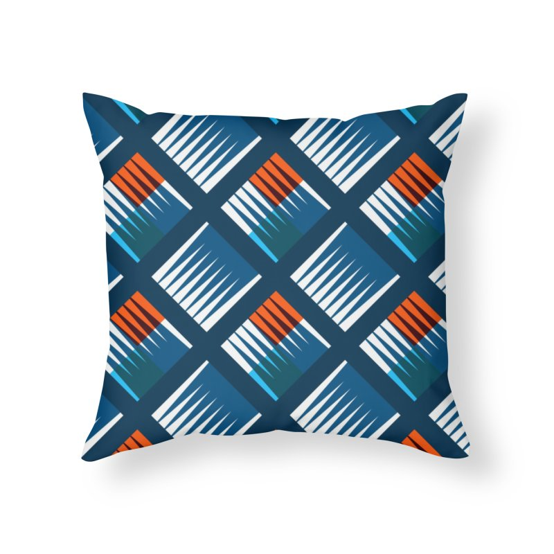 HAW Home Throw Pillow by christopheart