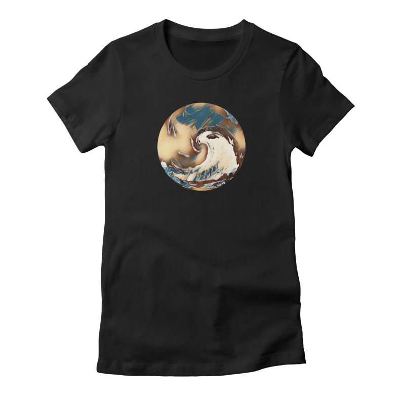 Flow with the Chi Women's Fitted T-Shirt by riverofchi's Artist Shop