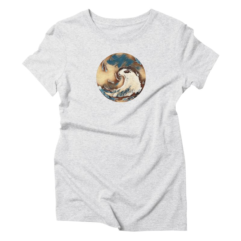 Flow with the Chi Women's Triblend T-Shirt by riverofchi's Artist Shop