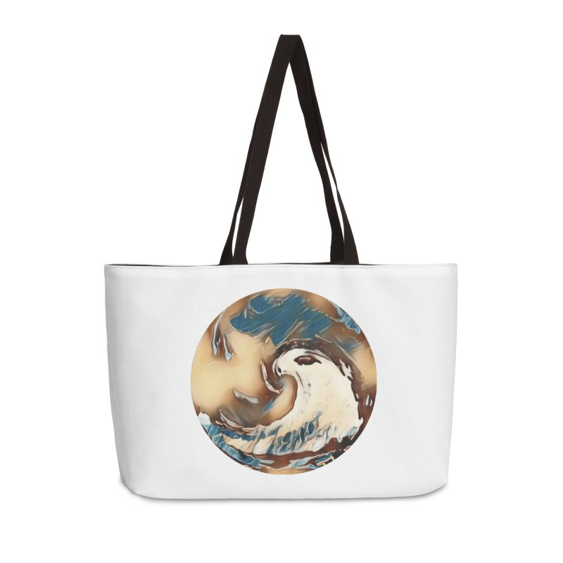Flow with the Chi Accessories Weekender Bag Bag by riverofchi's Artist Shop