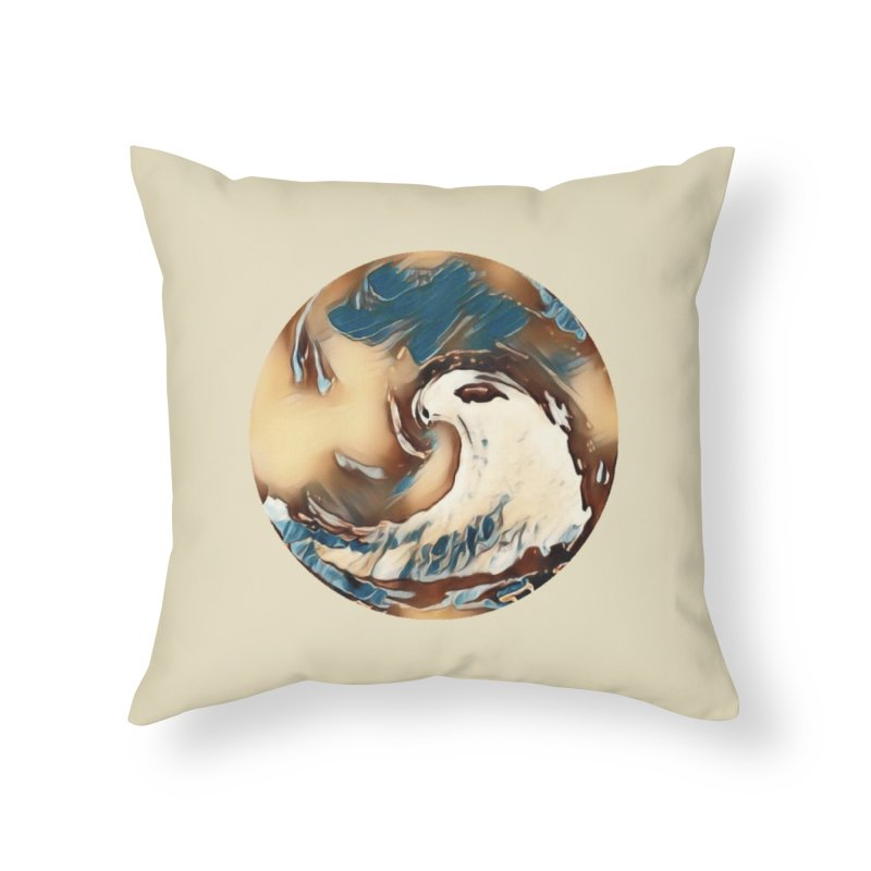 Flow with the Chi Home Throw Pillow by riverofchi's Artist Shop