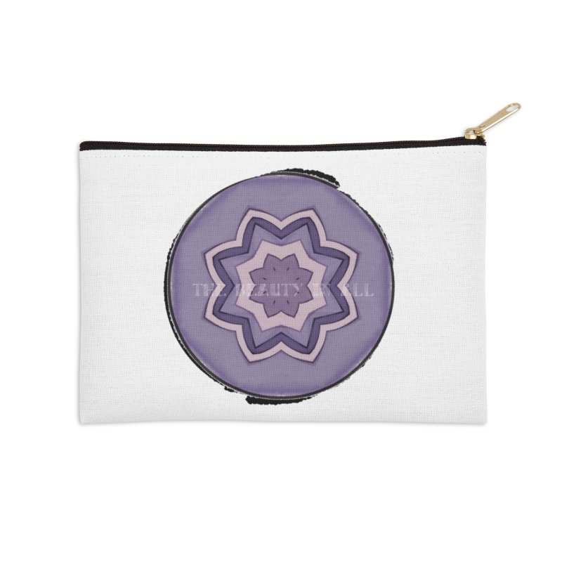 The Beauty In All Accessories Zip Pouch by riverofchi's Artist Shop