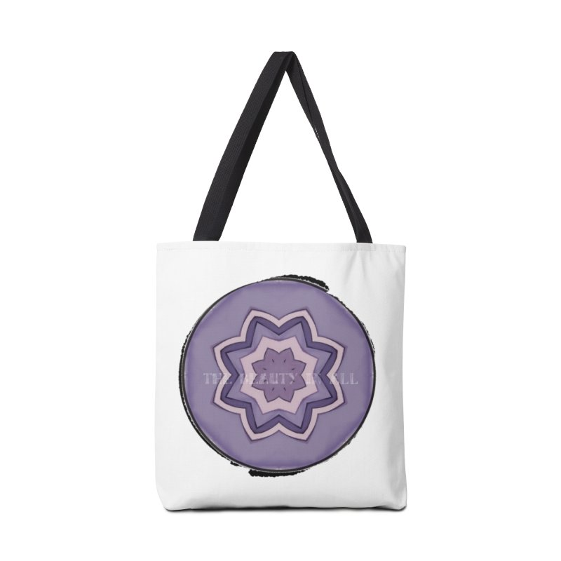 The Beauty In All Accessories Tote Bag Bag by riverofchi's Artist Shop