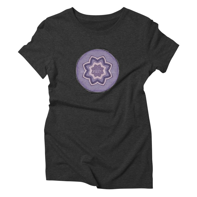 The Beauty In All Women's Triblend T-Shirt by riverofchi's Artist Shop