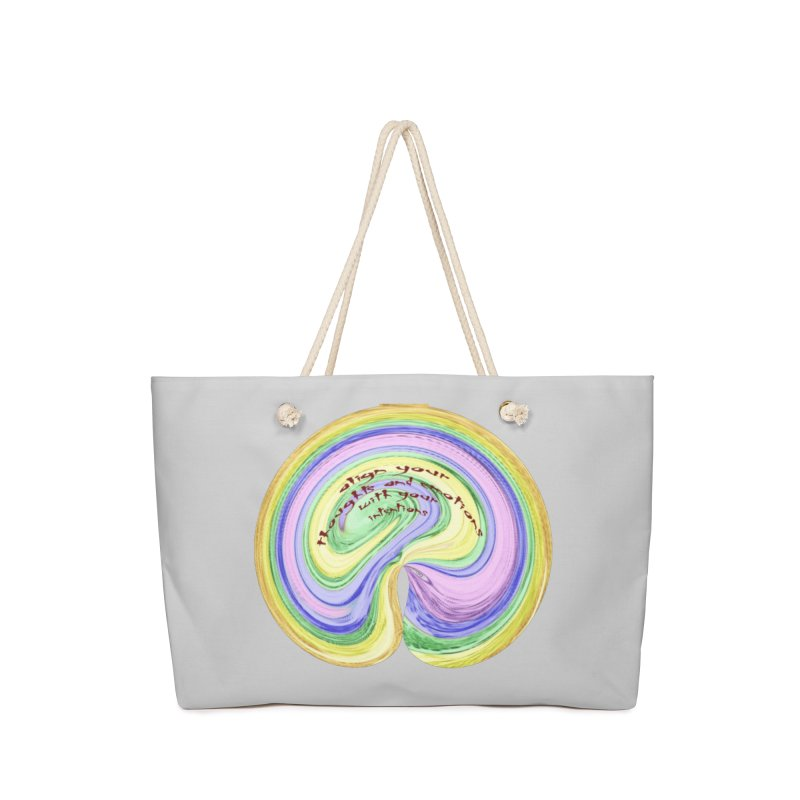 Align with Intention Accessories Bag by riverofchi's Artist Shop