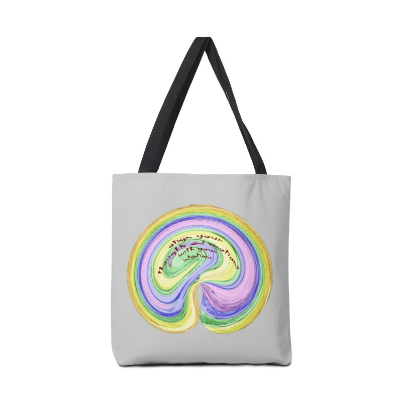 Align with Intention Accessories Tote Bag Bag by riverofchi's Artist Shop