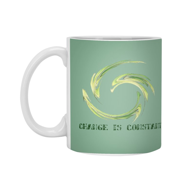 Change is Constant Accessories Standard Mug by riverofchi's Artist Shop