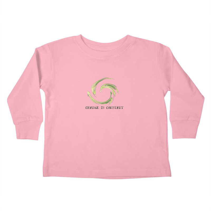 Change is Constant Kids Toddler Longsleeve T-Shirt by riverofchi's Artist Shop