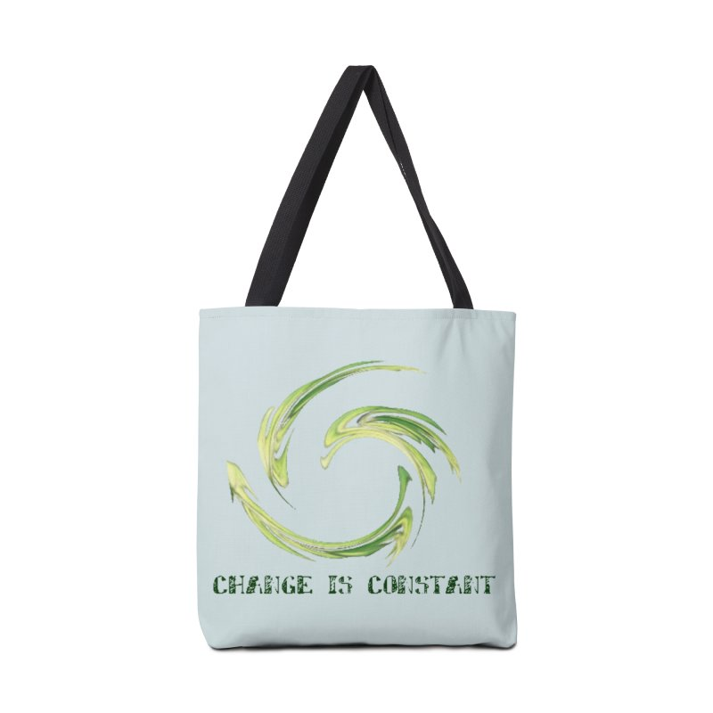 Change is Constant Accessories Tote Bag Bag by riverofchi's Artist Shop