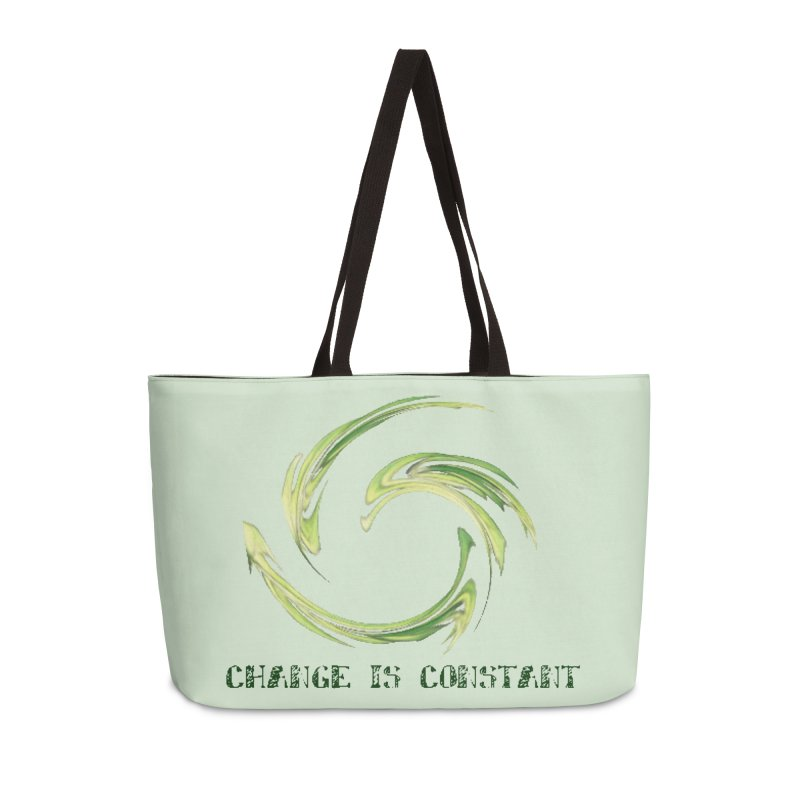 Change is Constant Accessories Weekender Bag Bag by riverofchi's Artist Shop
