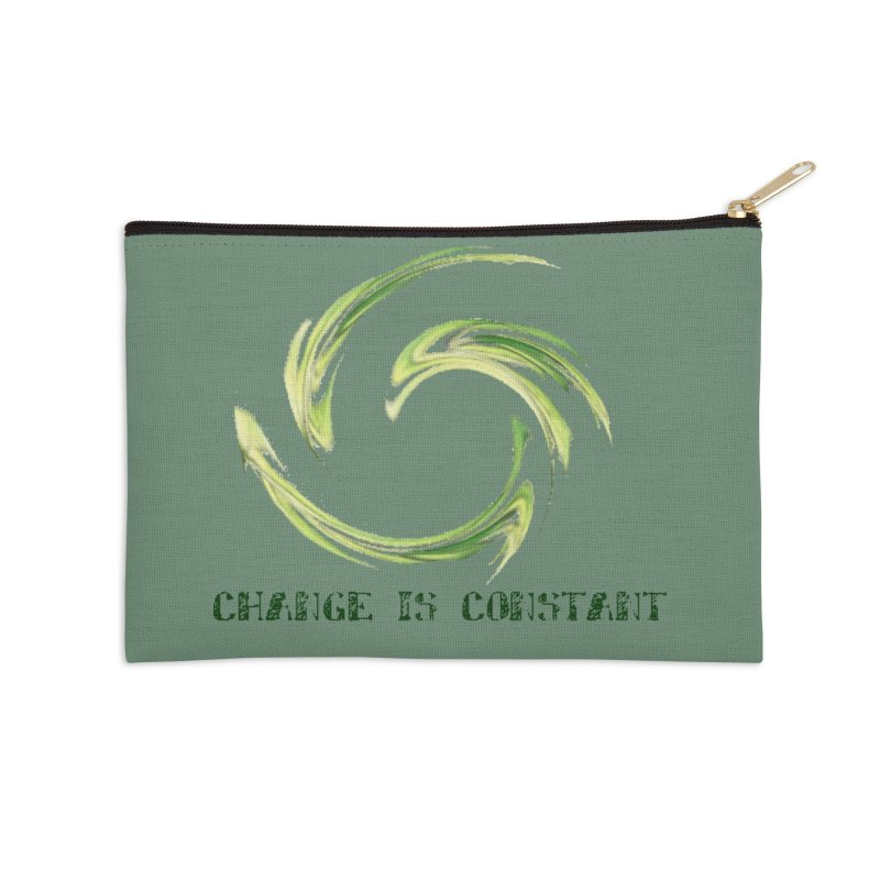 Change is Constant Accessories Zip Pouch by riverofchi's Artist Shop