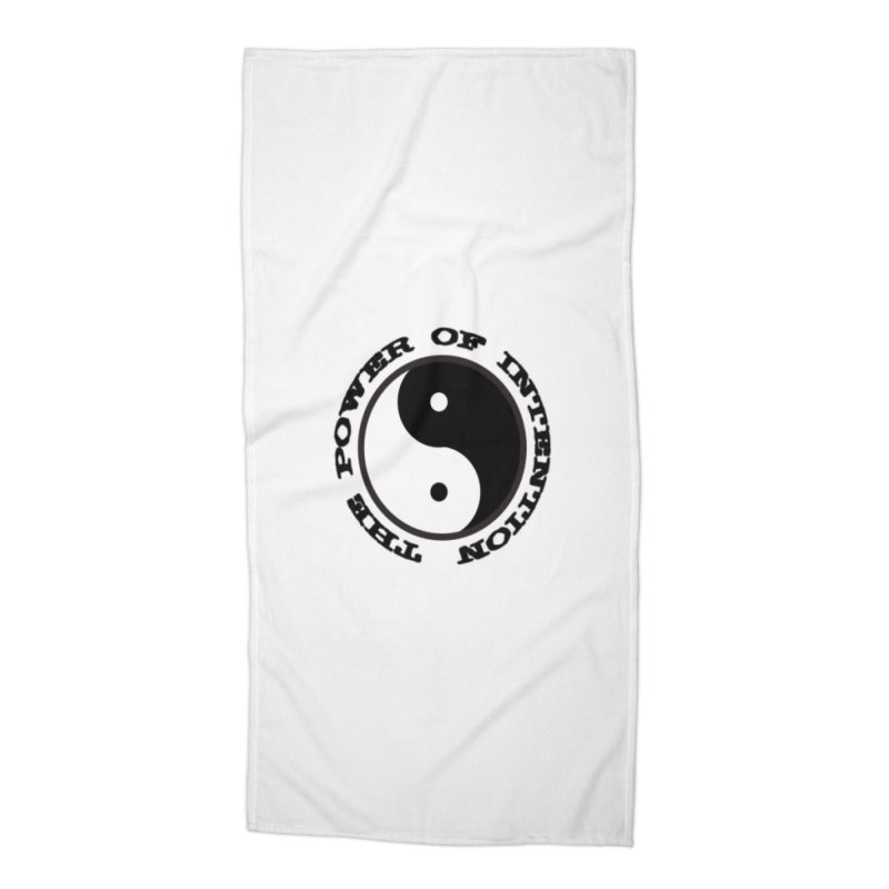 The Power of Intention Accessories Beach Towel by riverofchi's Artist Shop