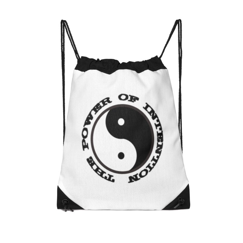 The Power of Intention in Drawstring Bag by riverofchi's Artist Shop