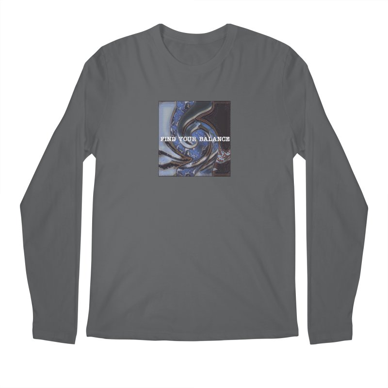 FIND YOUR BALANCE Men's Longsleeve T-Shirt by riverofchi's Artist Shop