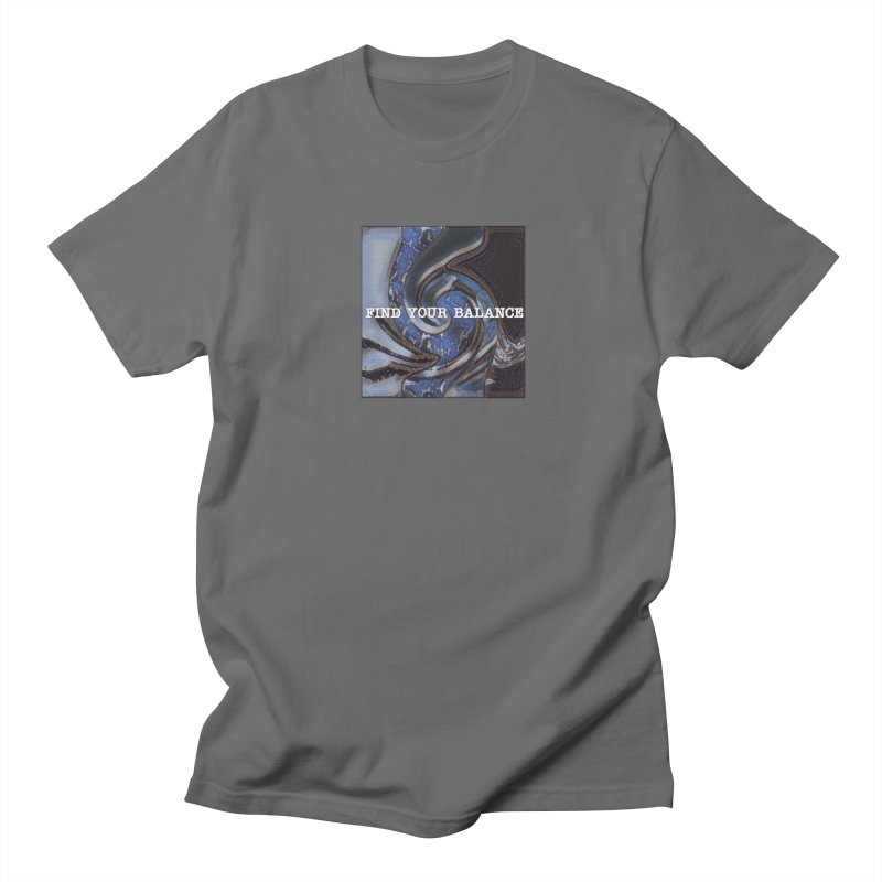 FIND YOUR BALANCE Men's T-Shirt by riverofchi's Artist Shop