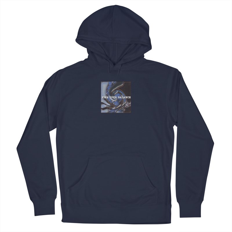FIND YOUR BALANCE Men's Pullover Hoody by riverofchi's Artist Shop