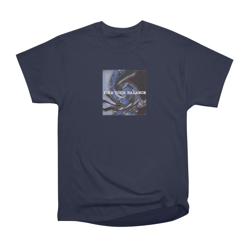 FIND YOUR BALANCE Men's Heavyweight T-Shirt by riverofchi's Artist Shop