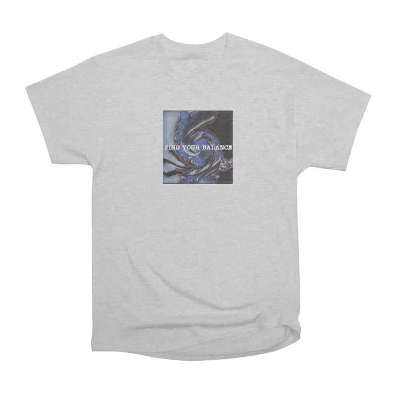 FIND YOUR BALANCE Women's T-Shirt by riverofchi's Artist Shop