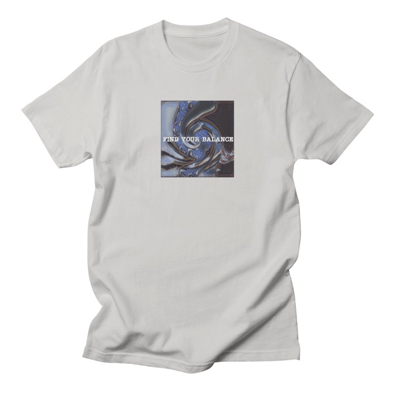 FIND YOUR BALANCE Men's Regular T-Shirt by riverofchi's Artist Shop