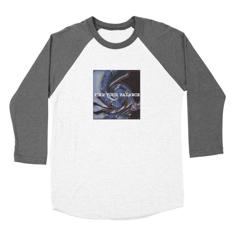FIND YOUR BALANCE Women's Baseball Triblend T-Shirt by riverofchi's Artist Shop