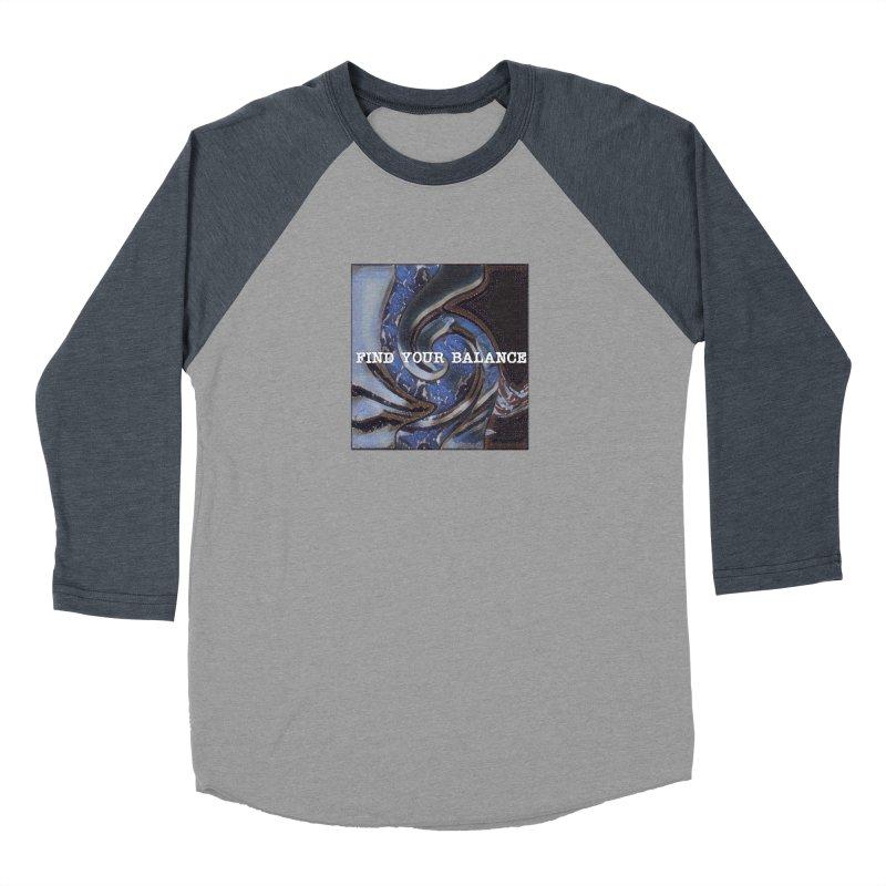 FIND YOUR BALANCE Women's Baseball Triblend Longsleeve T-Shirt by riverofchi's Artist Shop