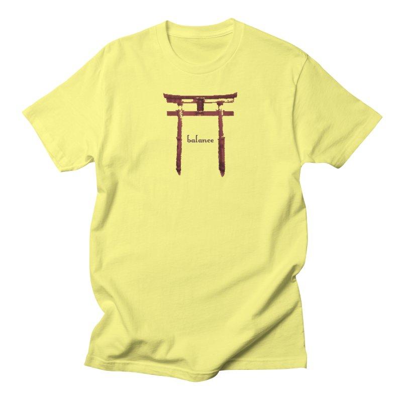 Balance Men's T-Shirt by riverofchi's Artist Shop