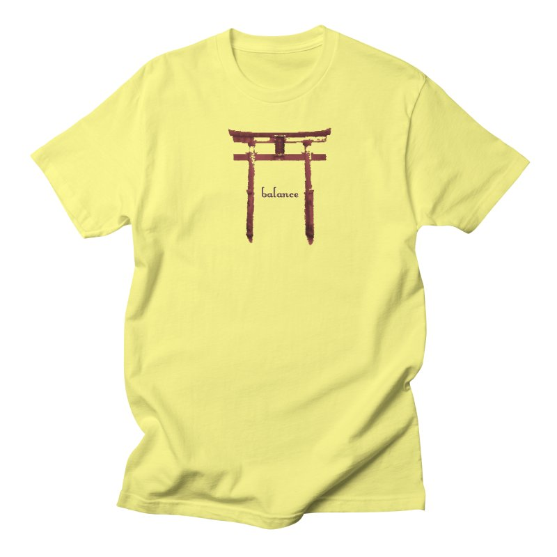 Balance Men's Regular T-Shirt by riverofchi's Artist Shop
