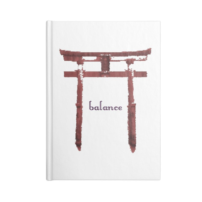 Balance Accessories Notebook by riverofchi's Artist Shop