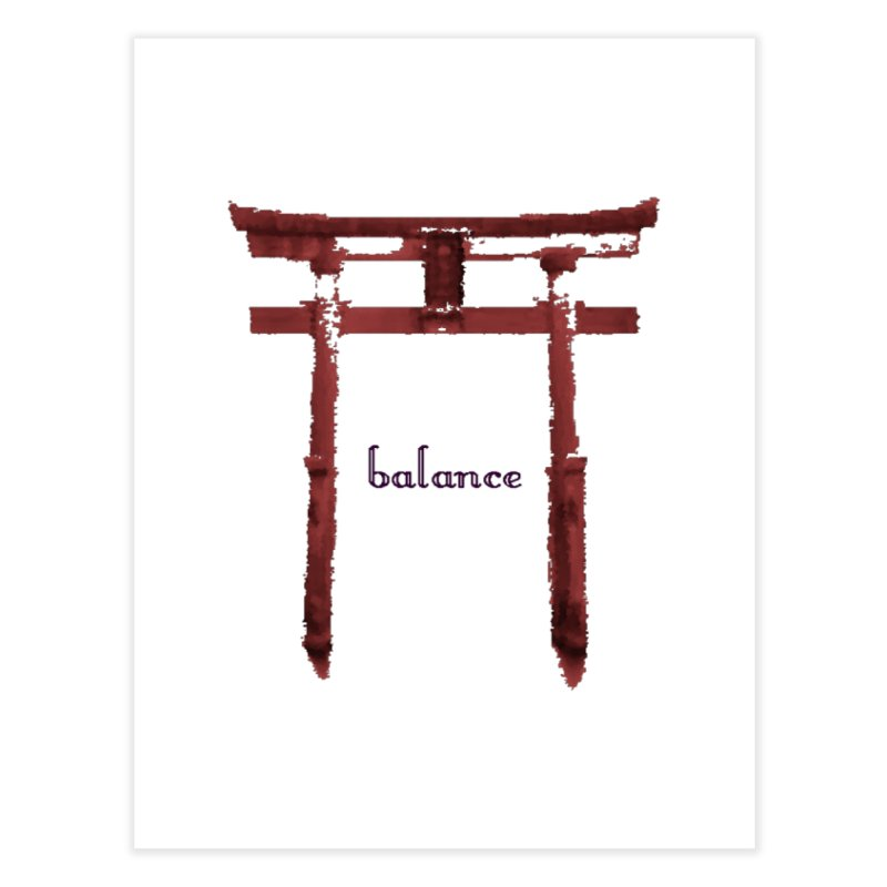 Balance Home Fine Art Print by riverofchi's Artist Shop