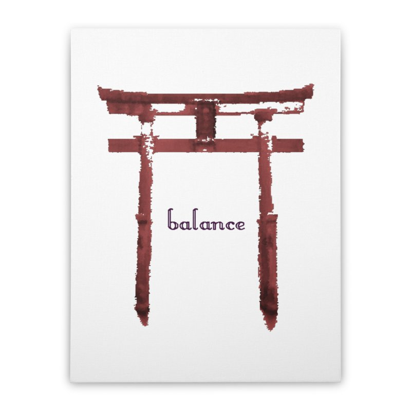 Balance Home Stretched Canvas by riverofchi's Artist Shop