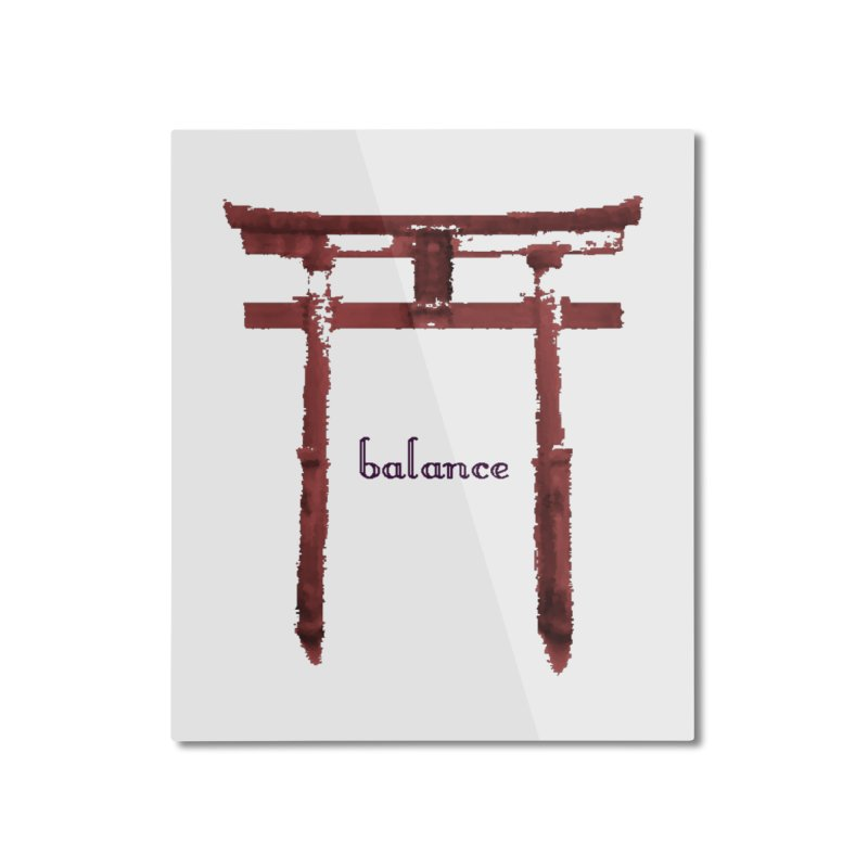 Balance in Mounted Aluminum Print by riverofchi's Artist Shop